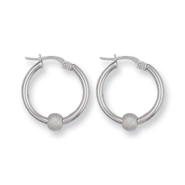 e6083187b ... White Gold Glitter Ball Hoop Earrings ‹Return to Previous Page. Bug Fix